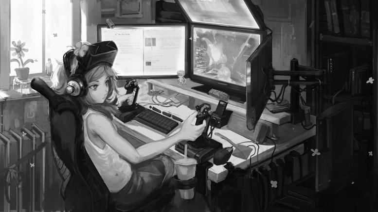 Amber Waterfall ASMR - Признание в любви от геймерши