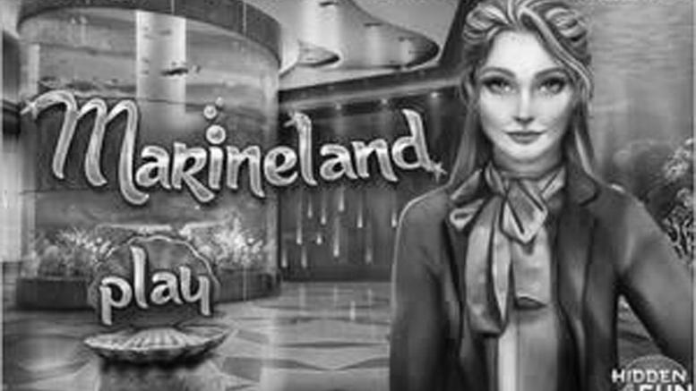 "Amber Waterfall ASMR - Играет в игру ""Marineland"""
