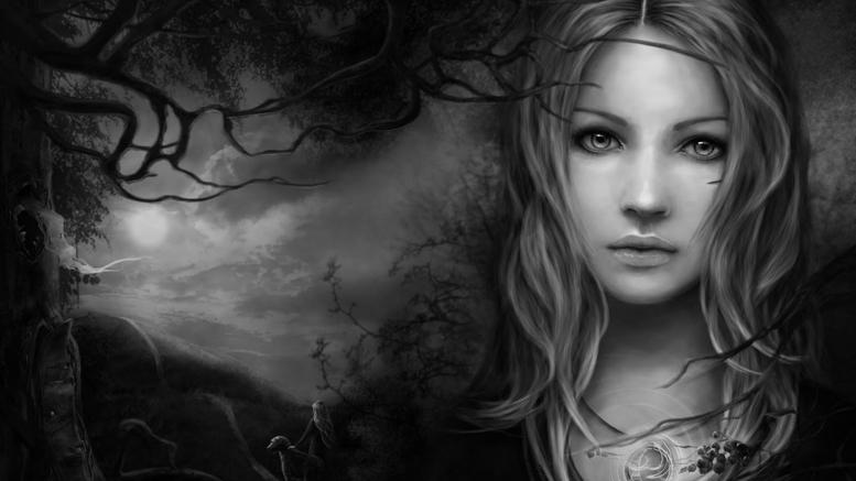 Amber Waterfall ASMR - Ведьма. Ролевая игра.