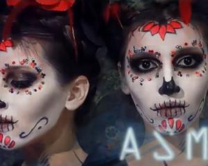 АСМР Мистер и Миссис Нежить - ролевая игра на Halloween (Макияж, personal attention) ASMR