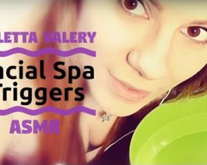АСМР триггеры из спа для лица / ASMR triggers from the facial spa