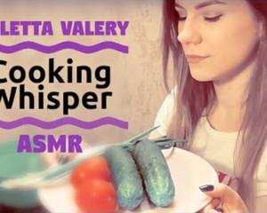 АСМР готовлю салатик / ASMR Cooking whisper